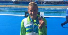 Plavalkam dve odličji na sredozemskih igrah v Tarragoni