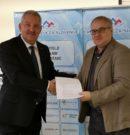 Podpis sponzorske pogodbe s podjetjem Myrtha Pools